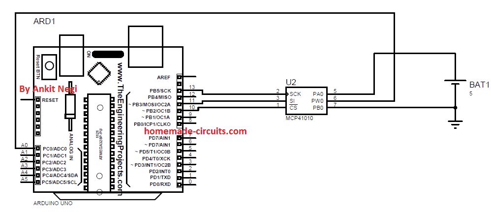 using digital potentiometer mcp41xx with arduino
