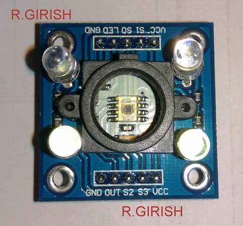 TCS3200 sensor
