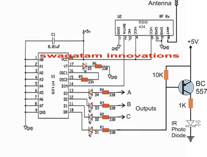 ir remote control range extender circuit